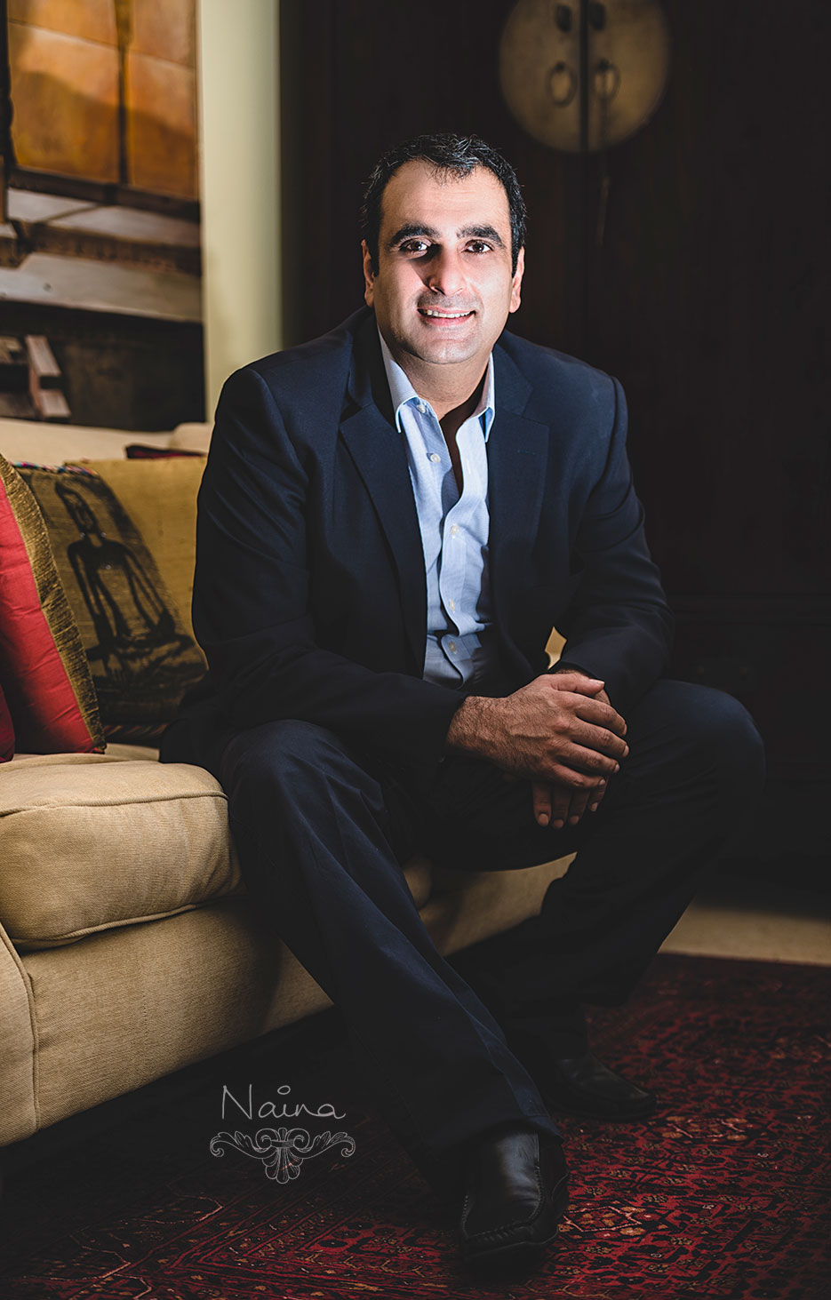 Anand Kapoor, Creative Services Support Group (CSSG), Corporate portraiture photography by photographer Naina Redhu