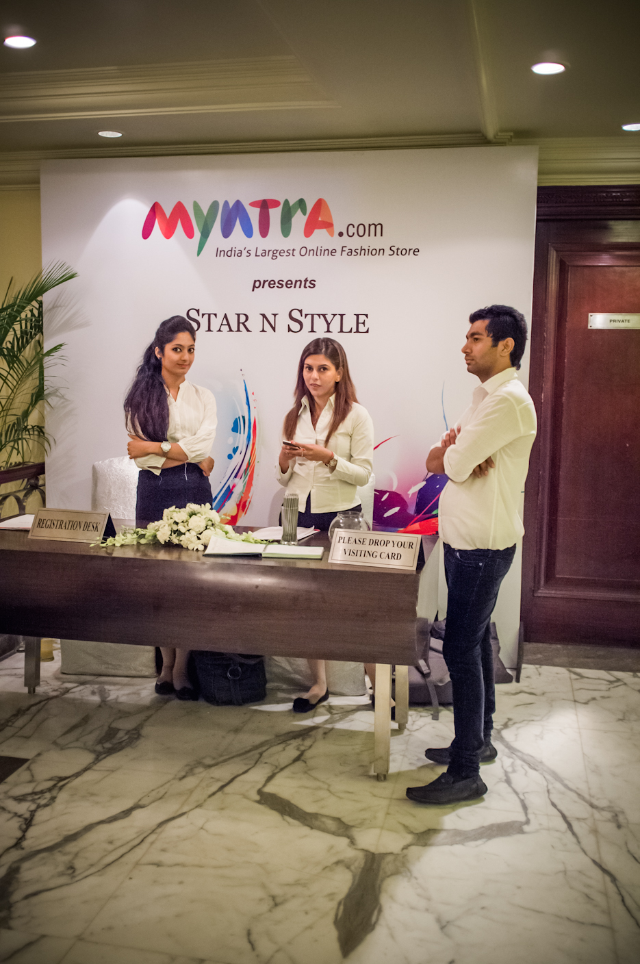 Myntra.com Star and Style Starnstyle with Kalki Koechlin. Retail Fashion Event Photography by professional Indian lifestyle photographer Naina Redhu of Naina.co