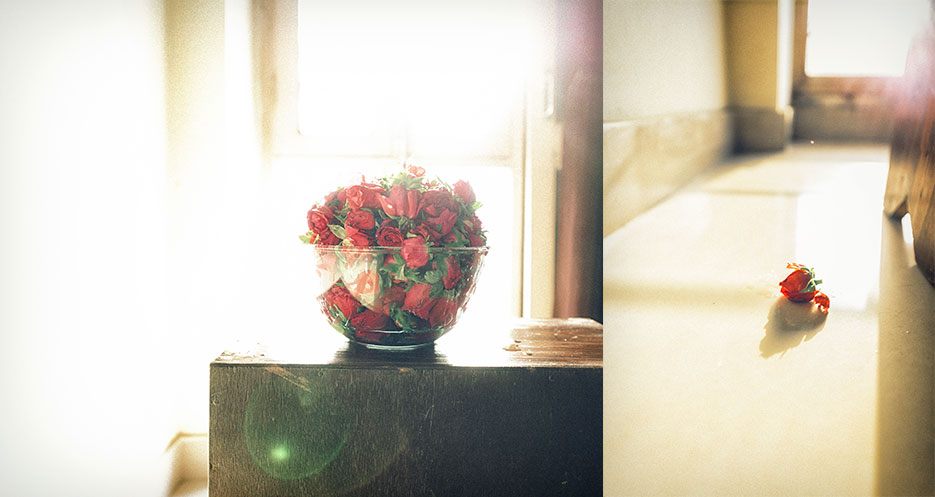 Roses and a self portrait. Flowers & portraiture photography by professional Indian lifestyle photographer Naina Redhu of Naina.co