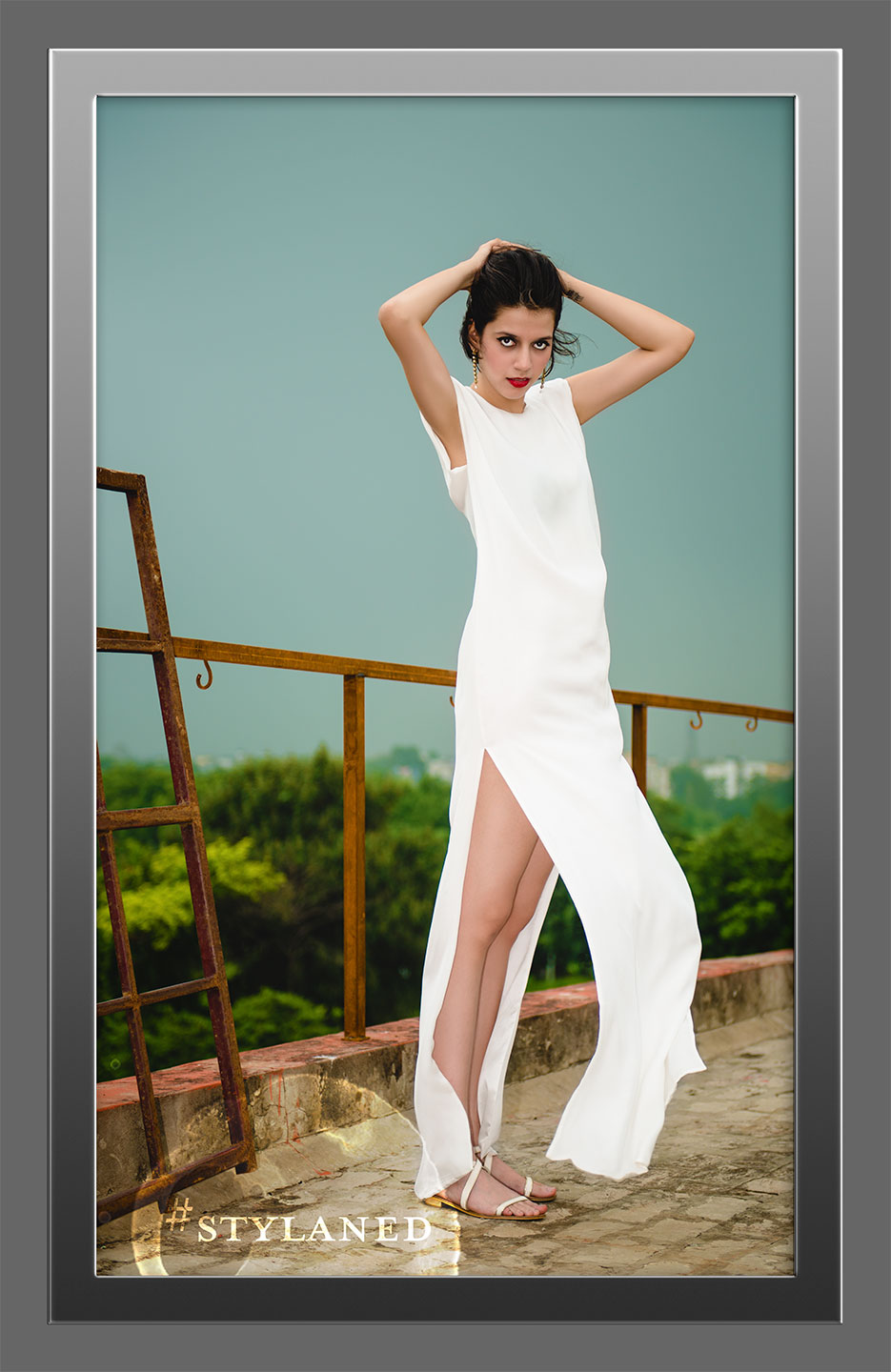 #stylaned Fashion features by photographer Naina Redhu and designer / stylist / blogger Akanksha Redhu for DRVV Official