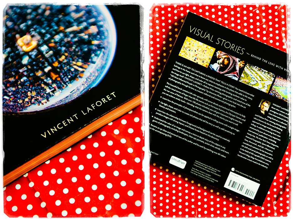 Visual Stories by Vincent LaForet. Photography Book Review & Giveaway. Product & Book Photography by professional Indian lifestyle photographer Naina Redhu of Naina.co