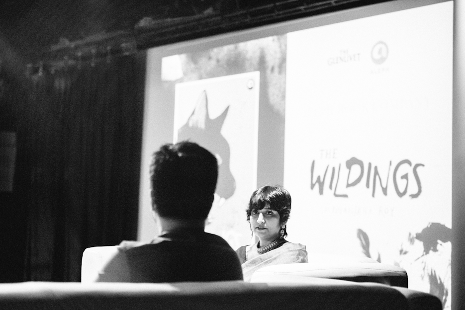 Wildings by Nilanjana Roy. Delhi Fiction Book Launch, Aleph Publications