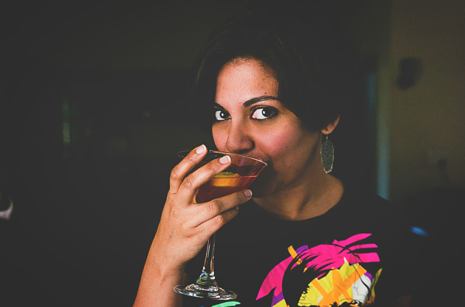Cointreau lunch. Photography by professional Indian fashion photographer Naina Redhu of Naina.co