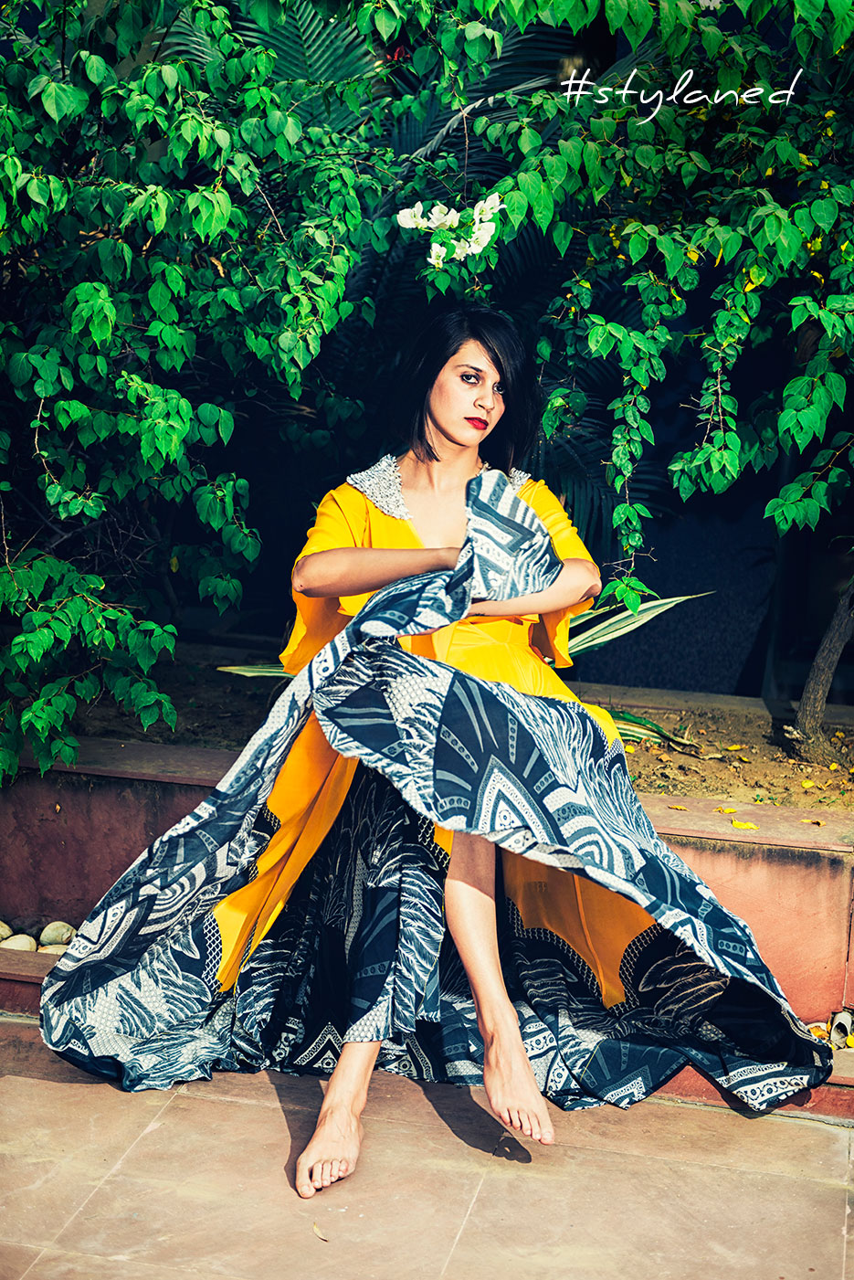 #stylaned Fashion features by photographer Naina Redhu and designer / stylist / blogger Akanksha Redhu for Ritu Kumar