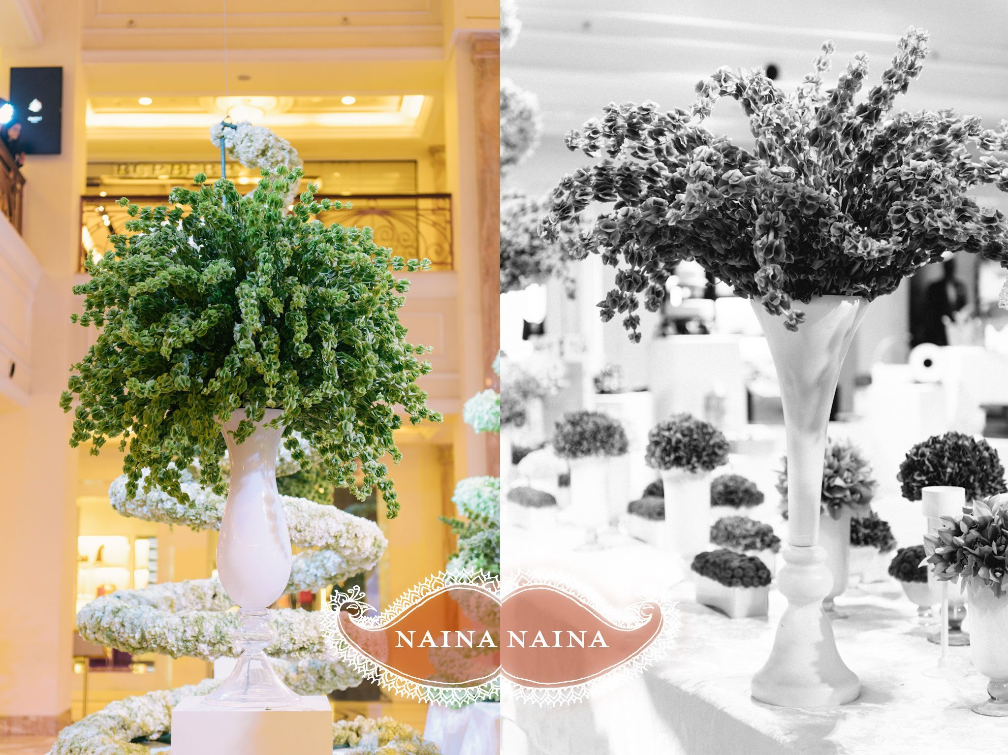 Wedding photographer : photography by Naina and Knottytales   Wedding Atelier by DLF Emporio and the Wedding Design Company, New Delhi