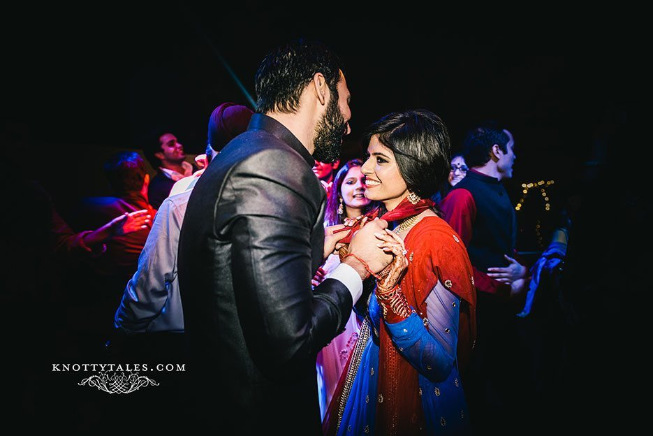 Indian wedding photographer : photography by Naina and Knottytales | Gursimran and Sheleja: Sangeet and Cocktails, Delhi