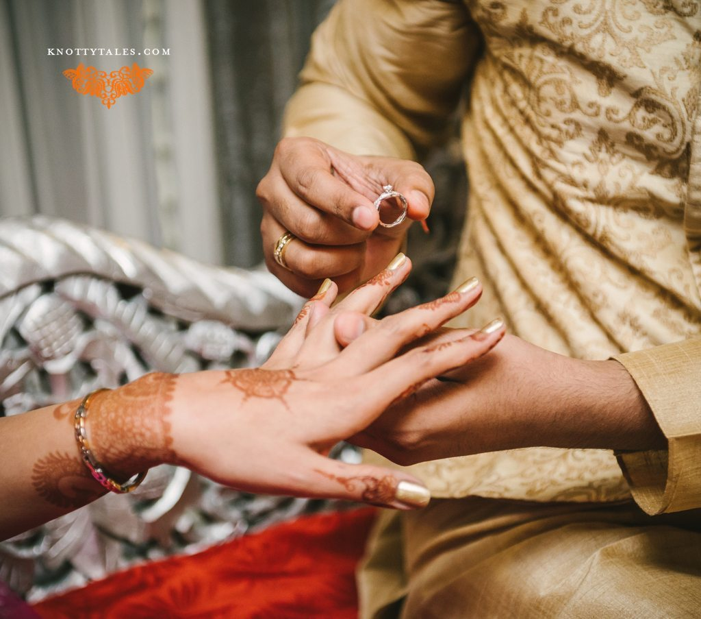 Indian wedding photographer : photography by Naina and Knottytales | Meera & Praval, Engagement Ceremony photo-shoot, New Delhi
