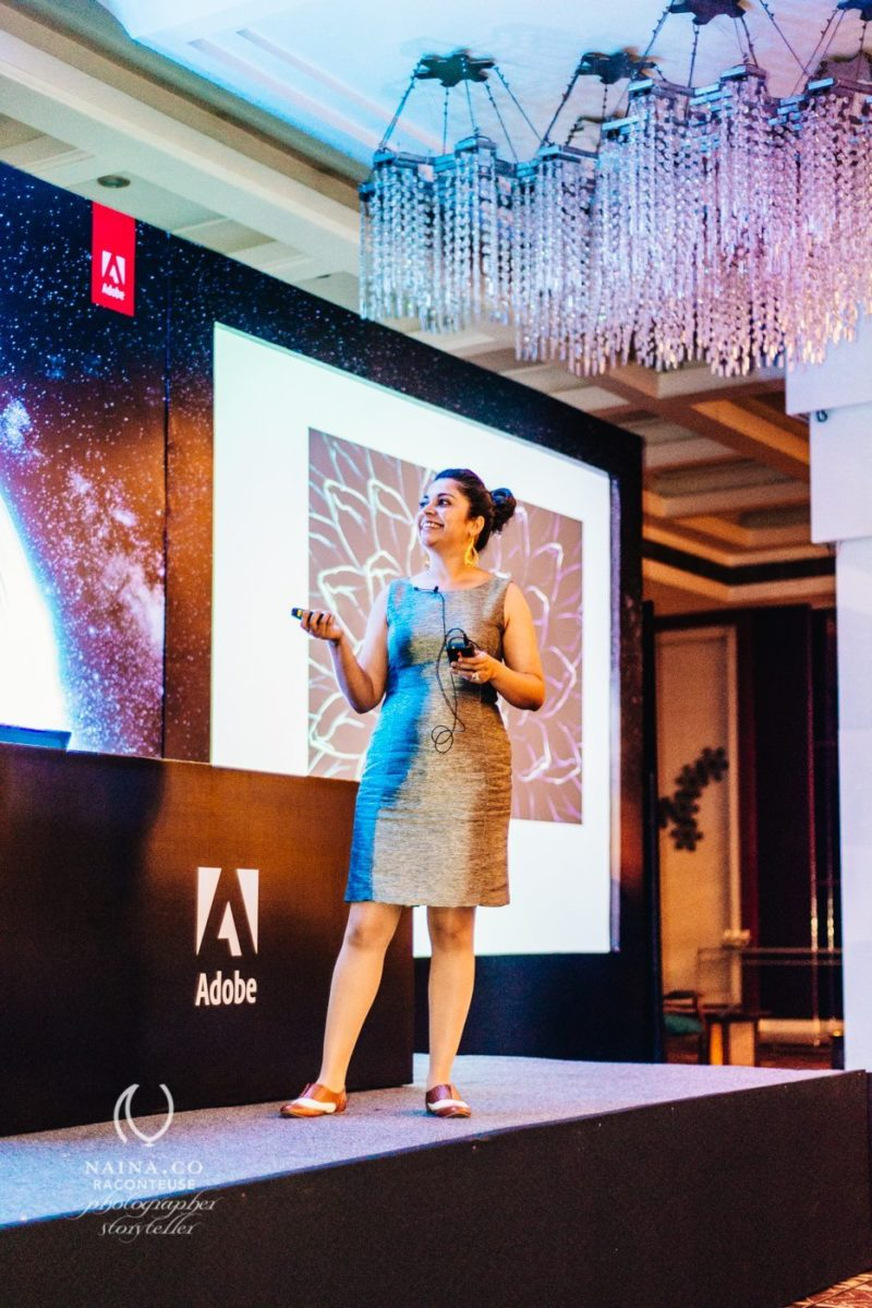 Naina.co-Photographer-Raconteuse-Storyteller-Luxury-Lifestyle-Adobe-Photography-Symposium-Bangalore-Speaker-Stage