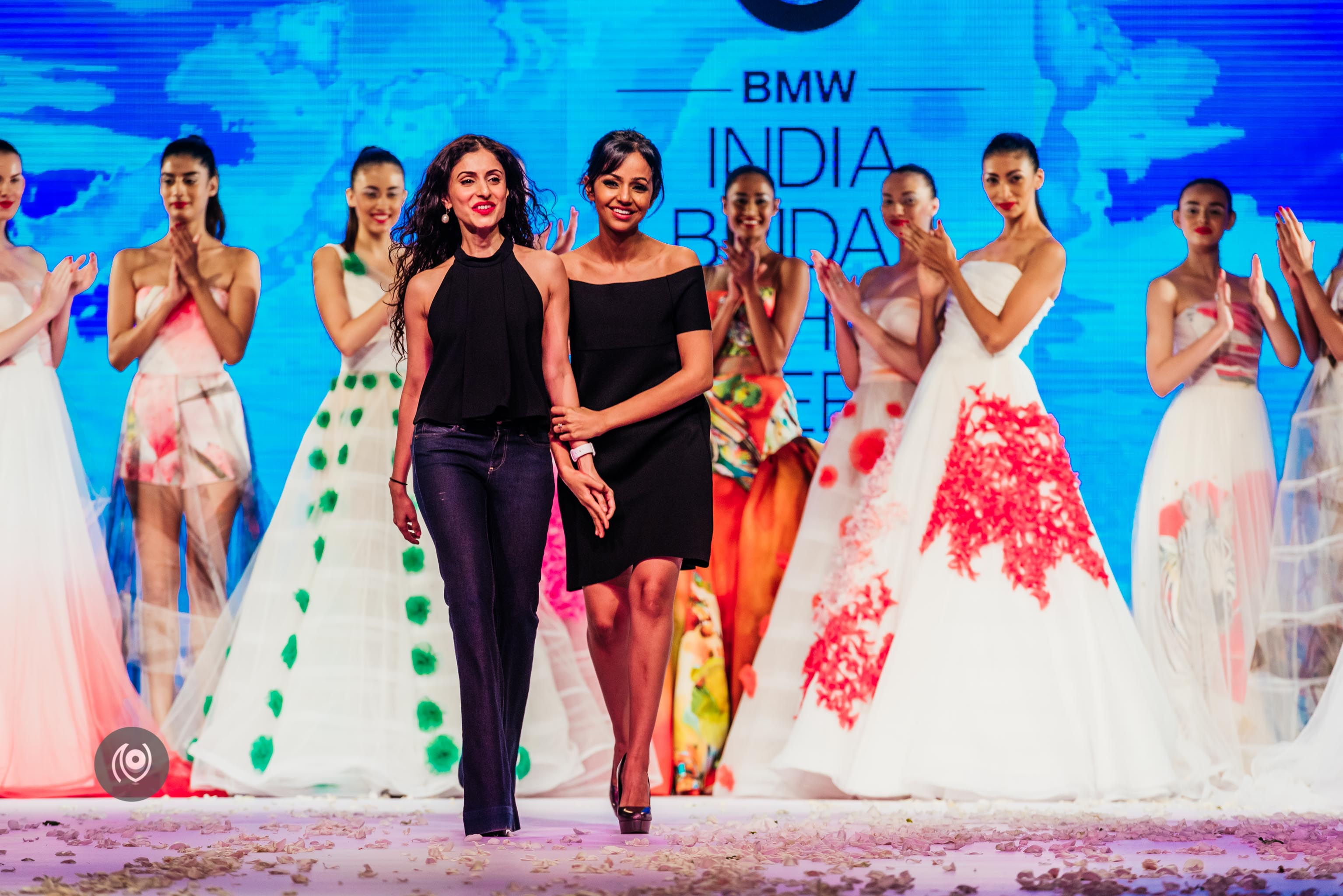 #SwarovskiCrystals Gauri and Nainika, BMW India Bridal Fashion Week, #BMWIBFW, Naina.co Luxury & Lifestyle, Photographer Storyteller, Blogger.