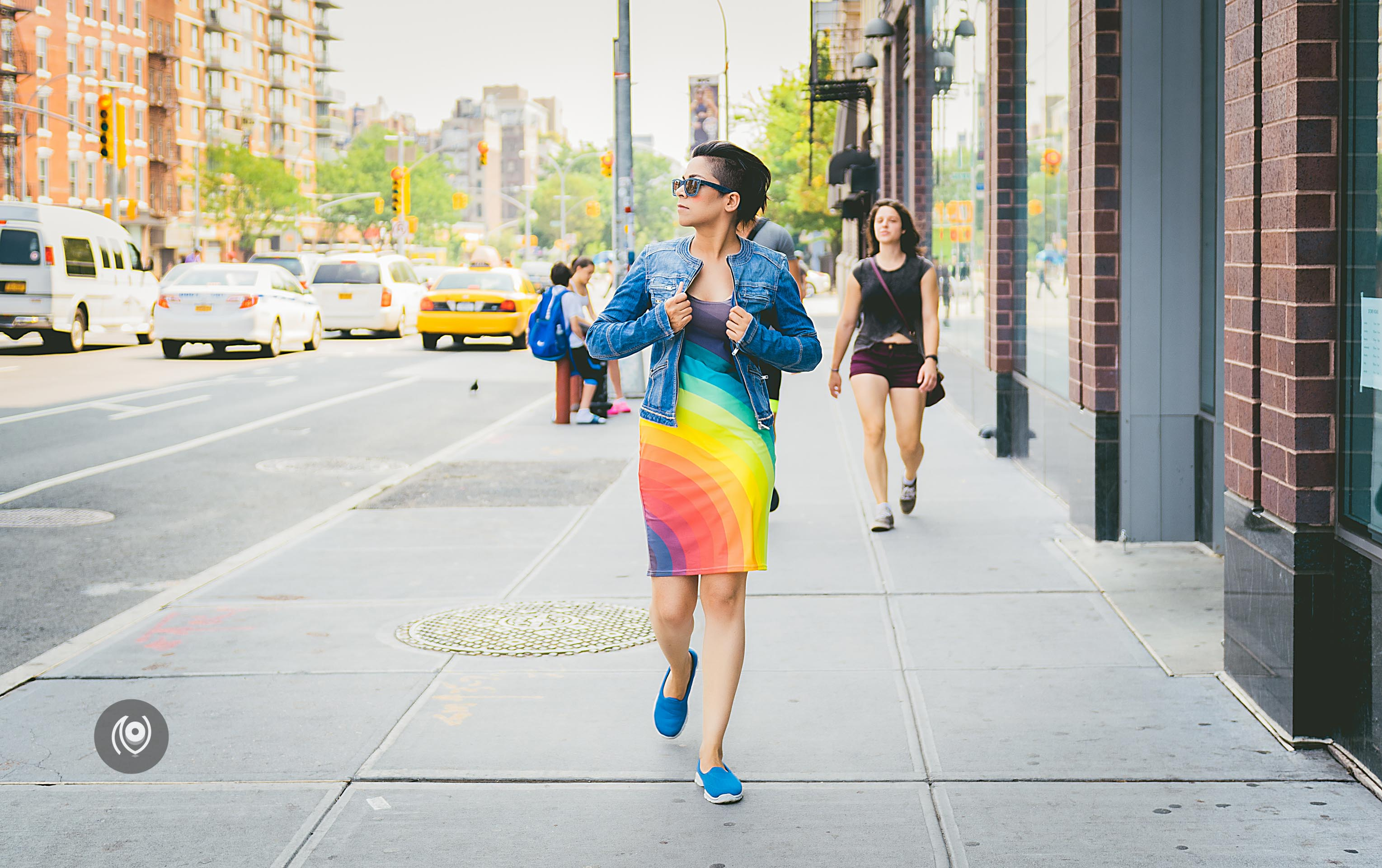 Rainbow Summer #CoverUp 50 #EyesForNewYork #REDHUxNYC #REDHUxAIRBNB Naina.co Luxury & Lifestyle, Photographer Storyteller, Blogger