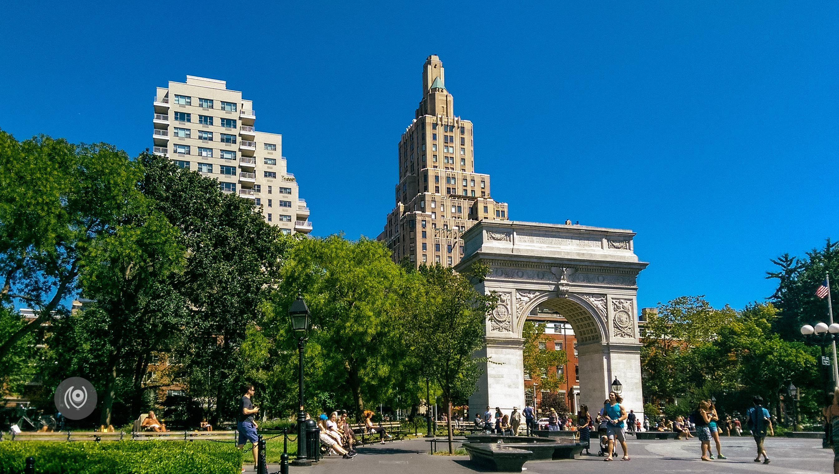 Walk to Washington Square Park #EyesForNewYork #REDHUxNYC Naina.co Luxury & Lifestyle, Photographer Storyteller, Blogger