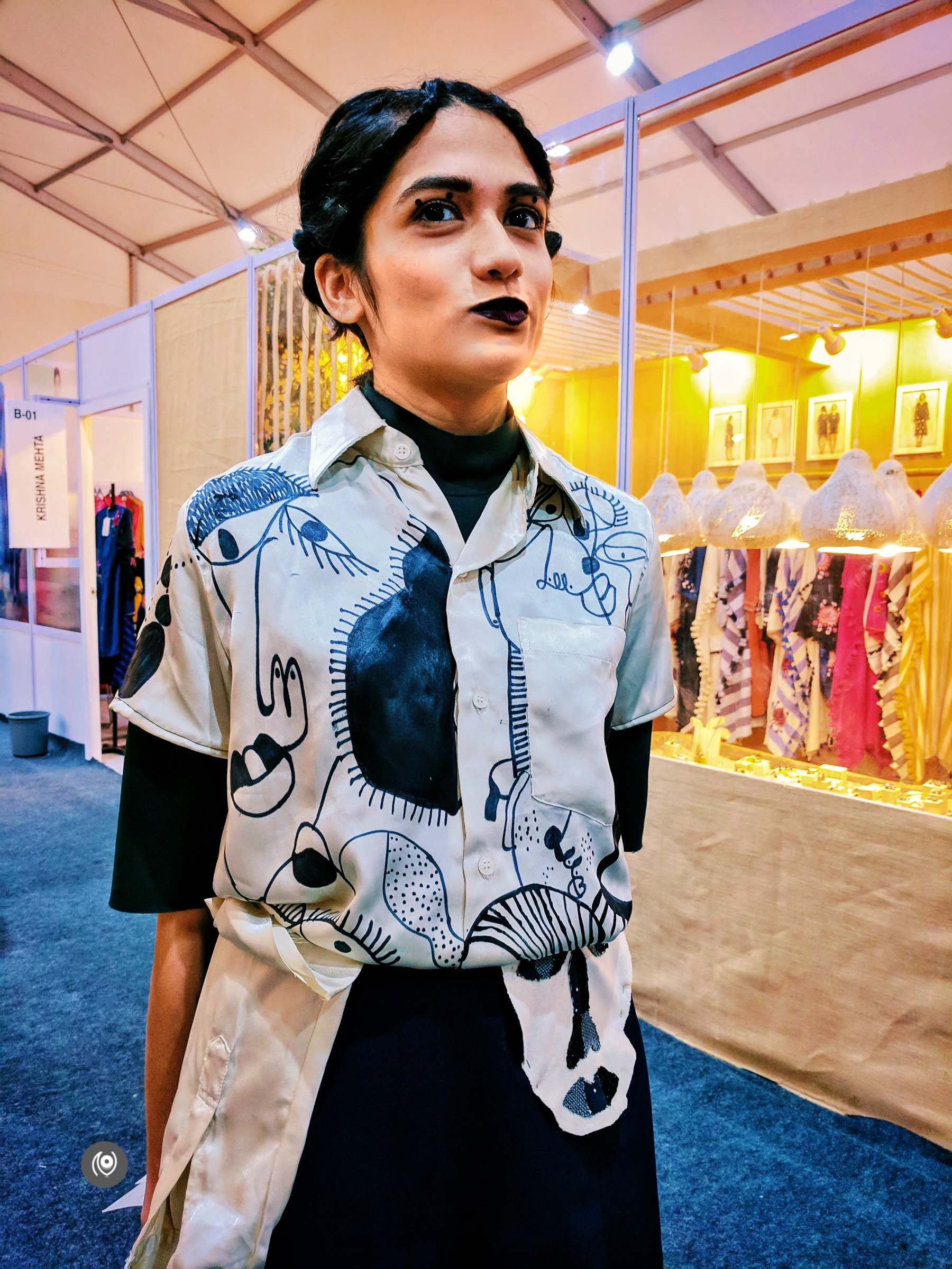 Naina.co, Naina Redhu, EyesForFashion, Amazon India Fashion Week, Spring Summer 2018, AIFWSS18, AIFW, New Delhi, India Fashion Week, NSIC Exhibition Grounds, Wendell Rodricks, Hemant Nandita, Shivan Narresh, Ambar Pariddi Sahai, Anupamaa, Fashion Designers, Street Style