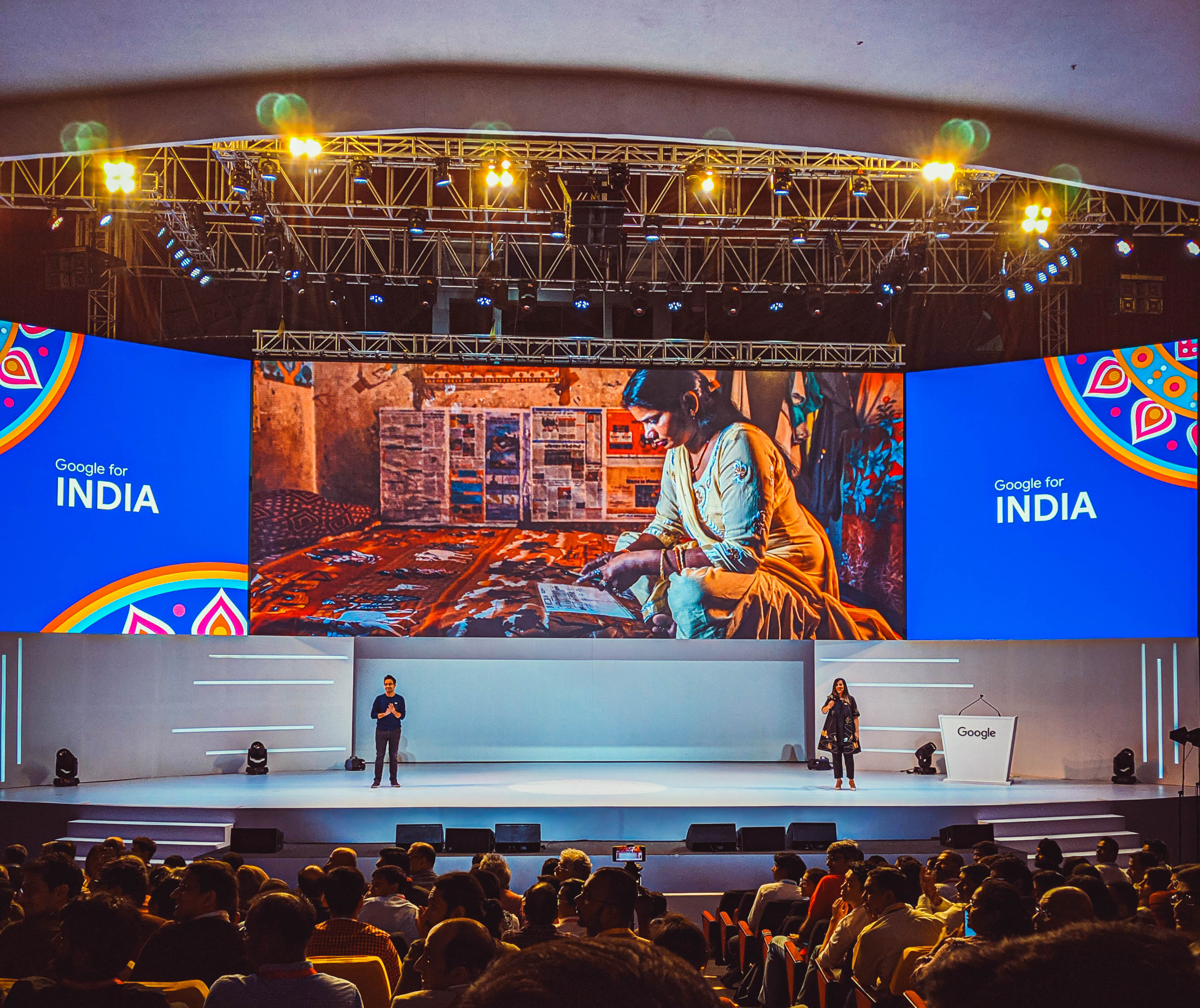 googleforindia, google for india, eyesfortechnology, phoneline, bolo, artificial intelligence, research center, google research center, bangalore google research center, internet, indian government, technology, policy, google for india 2019