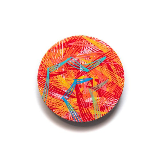 2 inch, 2 inches diameter, acrylic painting, acrylics on wood, art brooch, brooch, chaos lover, contemporary art, contemporary artist, display art, hand painted, khaos philos, khaosphilos, line art, line work, magnet clasp, naina redhu, naina.co, original art, wearable art, wearable art brooch, wearable art jewellery, wooden brooch, contemporary brooch, contemporary jewellery, contemporary jewelry, independent artist, hand made, one of a kind,newsprint, art series, acrylics on canvas, the fourth pillar, loss of trust, media landscape, naina redhu, naina, naina.co, khaosphilos, circular canvas, round canvas, stretched canvas, original art, contemporary art, contemporary artist, abstract art, abstract paintings, indian art, indian artist, news, print, freedom of press, freedom of speech, freedom of expression